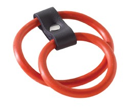 Red Nitrile Dual C Ring