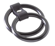 Black Steel Dual C Ring
