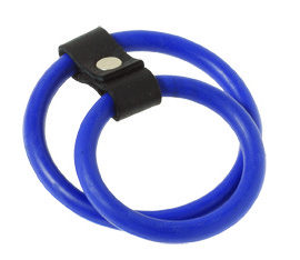 Black & Blue Nitrile Dual C Ring