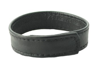 Sewn Garment Leather C Ring - Velcro