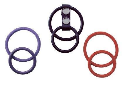 Nickel Free - Interchangeable Dual Nitrile C Ring Set