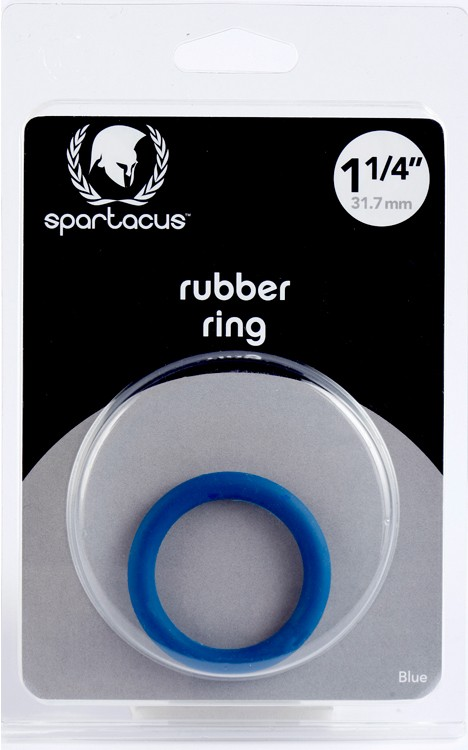 Blue Rubber C Ring - 1 1/4 in 3.175 cm