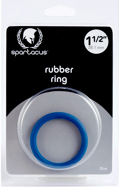 Blue Rubber C Ring - 1 1/2 in 3.81 cm