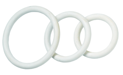 White Nitrile C Ring Set