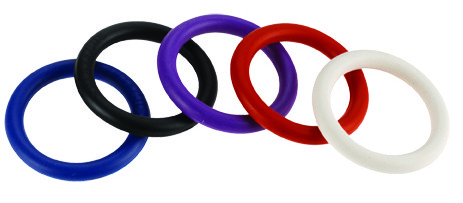 Rainbow Nitrile C Ring 5 Pack - 1 1/4 in 3.175 cm