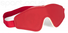 VEGAN BLINDFOLD-RED