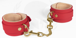 VEGAN WRIST RESTRAINTS-RED