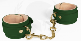 VEGAN ANKLE RESTRAINTS-GREEN